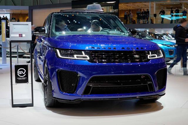 Land Rover Range Rover Sport - 5.0 V8 Kompressor SVR