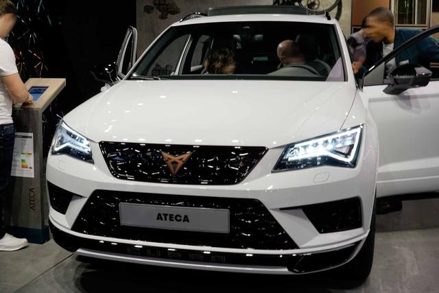 SEAT Ateca Cupra 2.0 TSI 300PS/221kW DSG7 4Drive 2020