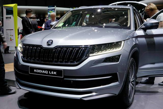 Skoda Kodiaq - Business KLIMA/LED/PDC v+h