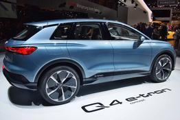 Audi Q4 e-tron, Das Bild ist ein beliebiges Beispiel der frei konfigurierbaren Modellreihe