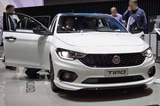 Vorlauffahrzeug Fiat Tipo 5-Türer - Pop   Navi, Klimaauto., Sitzheizung, 16 Zoll