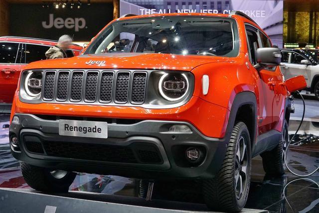 Jeep Renegade - 1.0l T-GDI I3 Sport Front