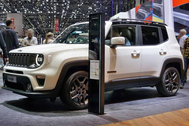 Jeep Renegade - 1.0l T-GDI I3 Limited Front