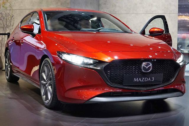 Mazda 3 Plus G122 NAVI Klimaaut LMF VollLED DAB HUD Totw Spur AdaptTemp 2xPDC Kamera SHZ