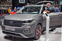Volkswagen T-Cross, Beispielbilder, ggf. teilweise mit Sonderausstattung