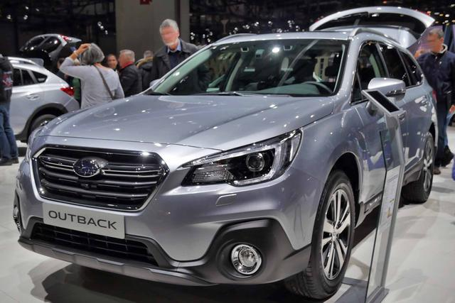 Subaru Outback - Summit 2.5i 4WD 175PS CVT 2019