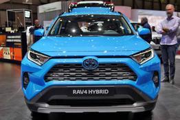 Toyota RAV4 - H4 2.5 Hybrid 218PS/160kW CVT 2020