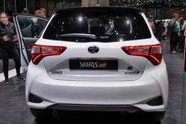 Toyota Yaris, Das Bild ist ein beliebiges Beispiel der frei konfigurierbaren Modellreihe