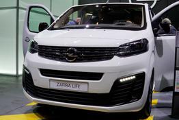 Opel Zafira Life, Das Bild ist ein beliebiges Beispiel der frei konfigurierbaren Modellreihe