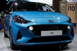 Hyundai i10, Das Bild ist ein beliebiges Beispiel der frei konfigurierbaren Modellreihe