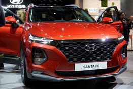 Hyundai Santa Fe, Das Bild ist ein beliebiges Beispiel der frei konfigurierbaren Modellreihe
