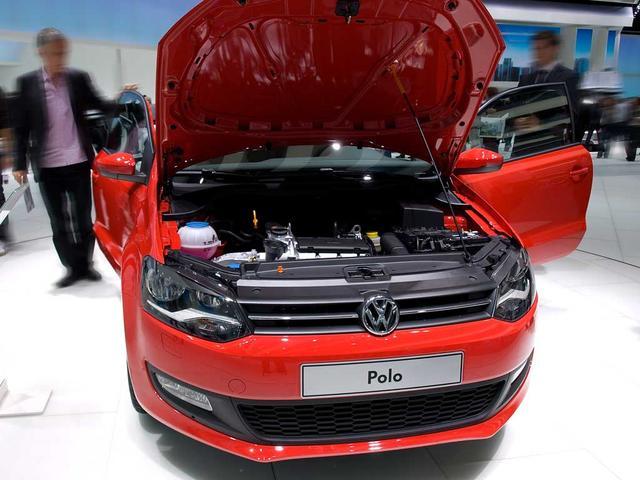 VW Polo - Comfortline 5-türig Fracht frei Haus, Frontassist, Fußgängererkennung, Klimaanlage, Radio Composition Colour
