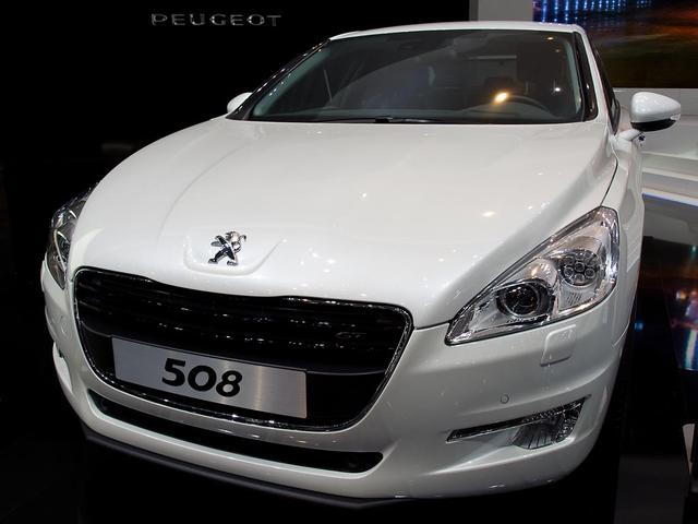 Peugeot 508 - Acces