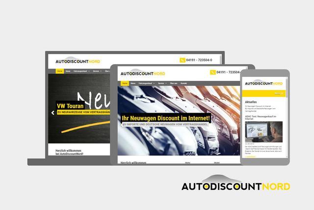 AutoDiscountNord - Unser neuer Internetauftritt