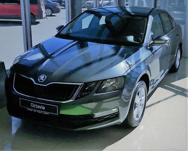 Skoda Octavia - Active 1,0TSI 85kW/125PS 6-Gang