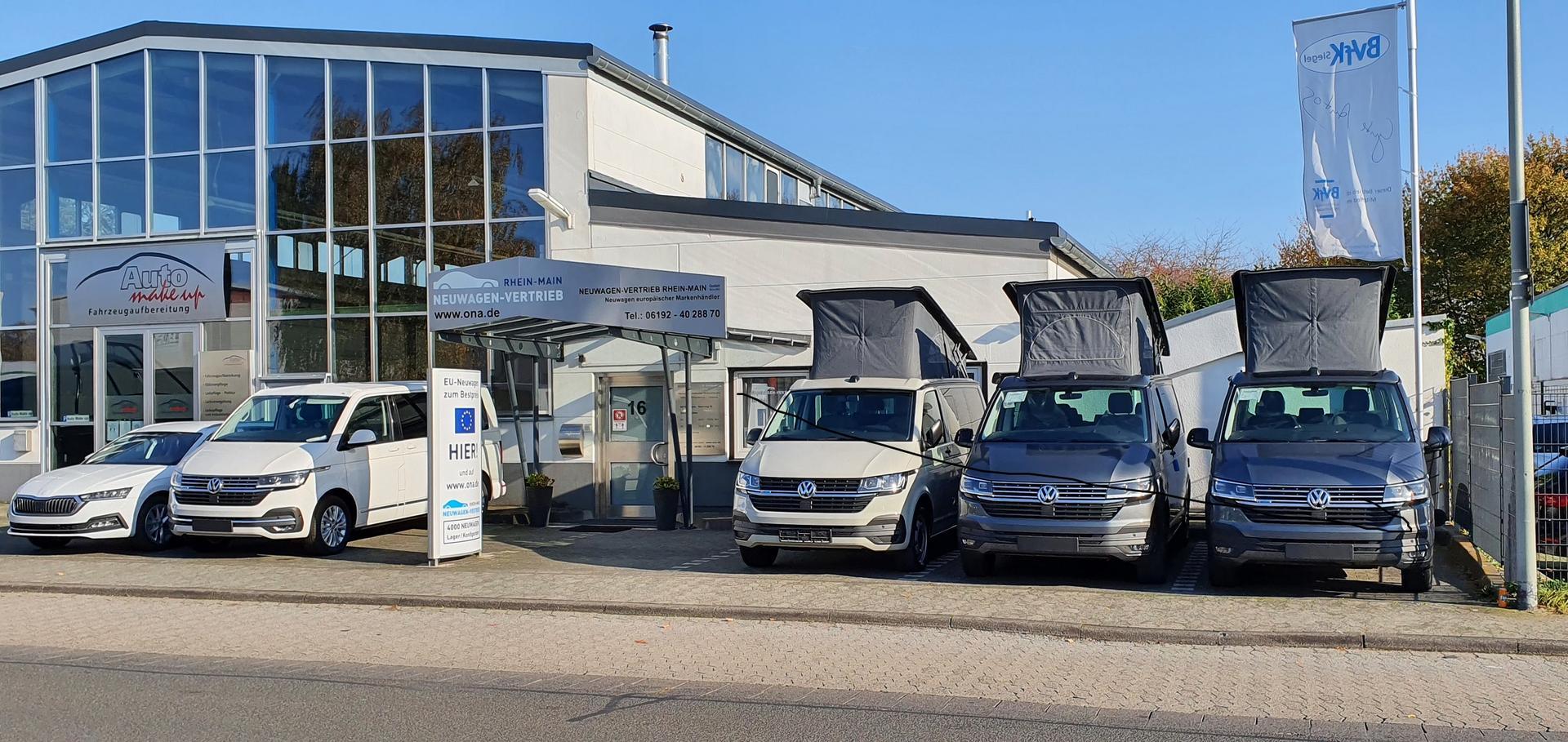 VW T6.1 Multivan und California -- in allen Varianten - kompetente Beratung