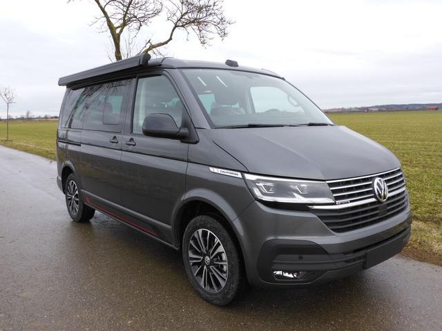 Volkswagen California 6.1 - Beach Camper-Edition 2,0TDI 110kW/150PS 6-Gang, Dreierbank, Markise, PDC v h, Climatronic, ACC, Navi, Standheizung, Euro 6d-ISC-FCM Vorlauffahrzeug kurzfristig verfügbar