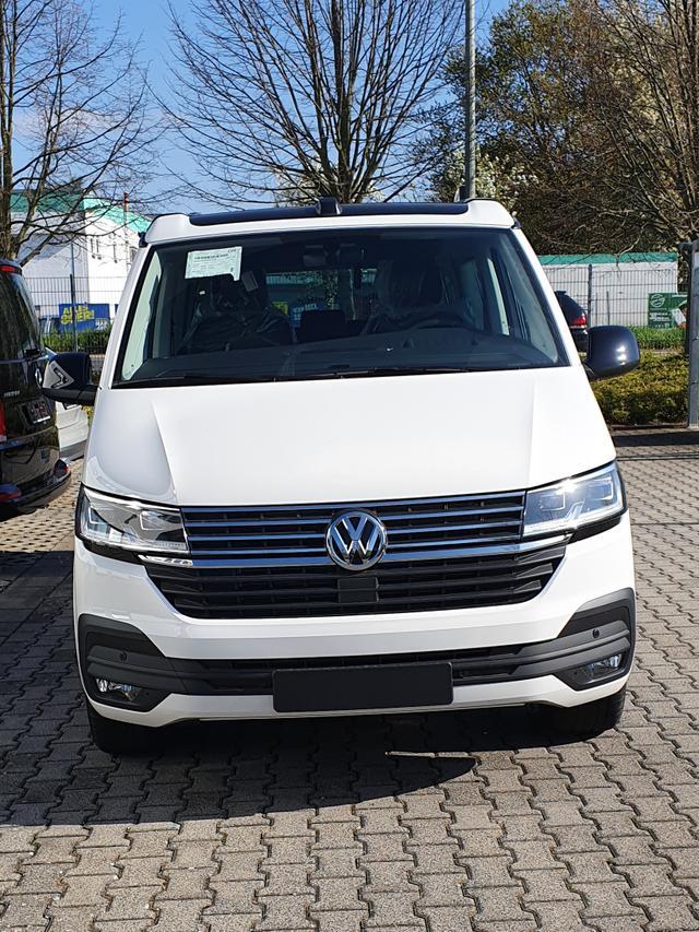 Volkswagen California 6.1 - Beach Tour-Edition 2.0TDI 110kW/150PS 6-Gang, 5-sitzer, Schiebetür links rechts, PDC v h, Climatronic, Sitzheizung, ACC, Navi, Standheizung, Euro 6d-ISC-FCM Vorlauffahrzeug kurzfristig verfügbar