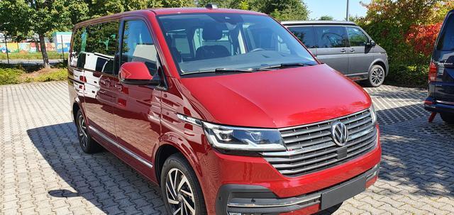 Volkswagen Multivan 6.1 - Highline 2.0TDI 4 Motion 150kW/204PS DSG 7-Gang, 7-sitzer, PDC v h, Kamera, Climatronic, AHK, Sitzheizung, ACC, Navi, Standheizung, Euro 6d-ISC-FCM Lagerfahrzeug