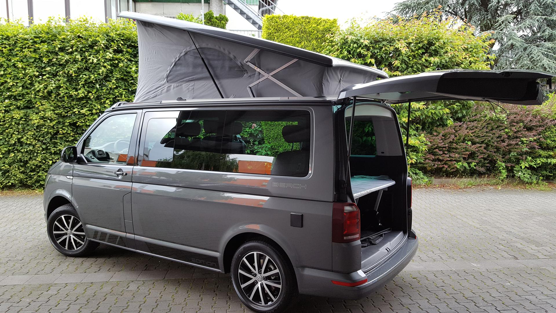 volkswagen t6 california beach edition 2 0 tdi scr bmt. Black Bedroom Furniture Sets. Home Design Ideas