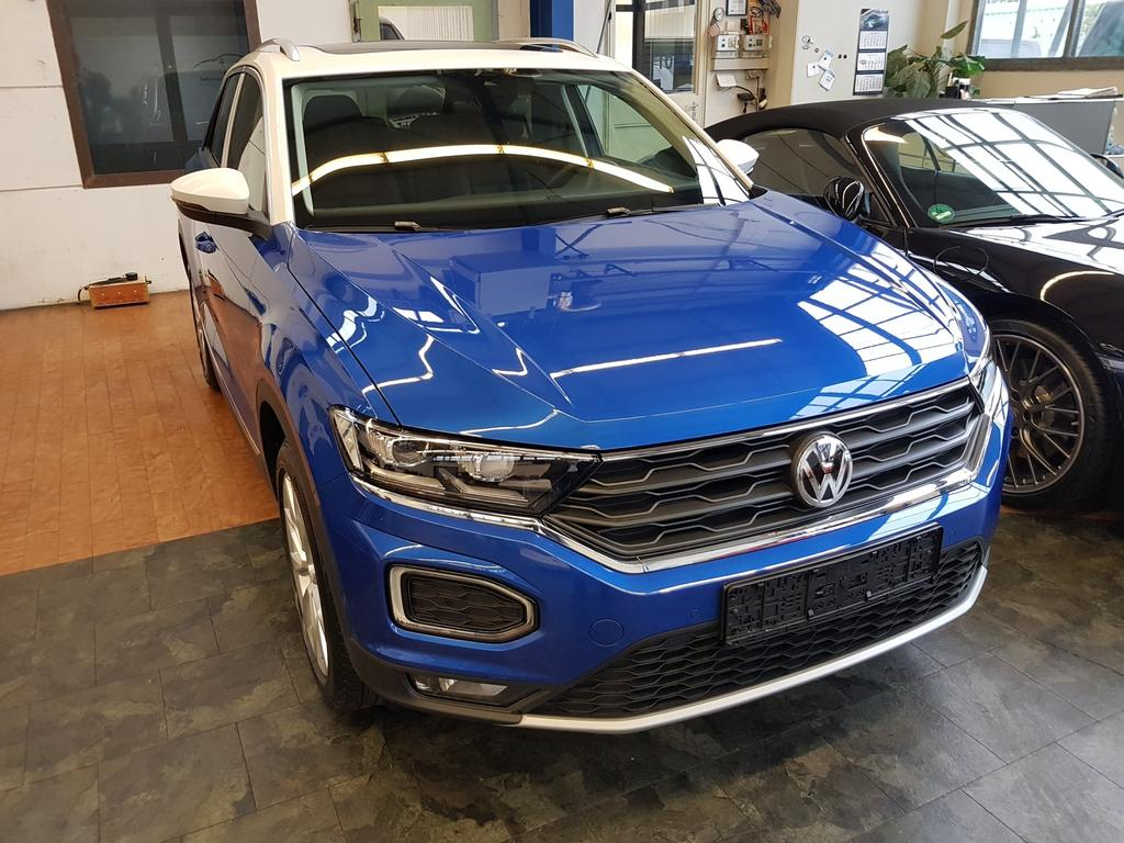 volkswagen t roc style 1 6 tdi 85kw 115ps 6 gang neuwagen. Black Bedroom Furniture Sets. Home Design Ideas