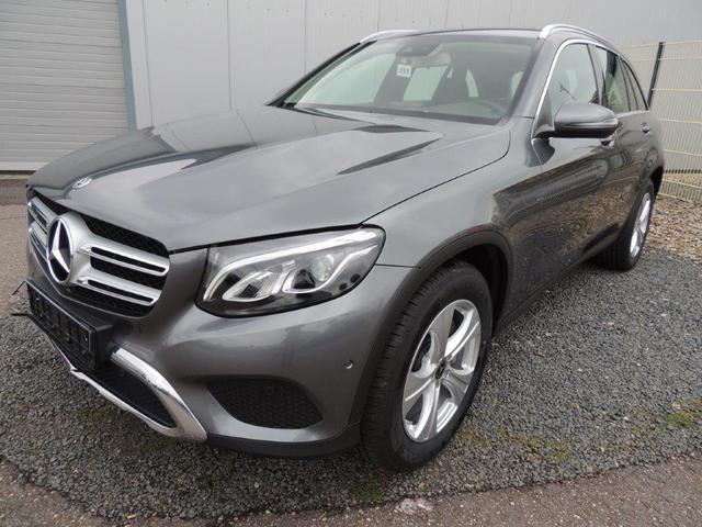 Mercedes-Benz GLC SUV - d 4MATIC 9G-TRONIC 9G-TRONIC, 8-fach bereift, Navigation, elektrische Heckklappe, 18'' Alu