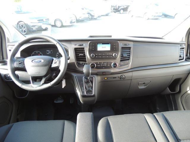 Ford Transit Custom 2.0 TDCI Trend AT L1H1 320 9-Sitzer, beheizb. Frontscheibe, Tempomat, Lederlenkrad