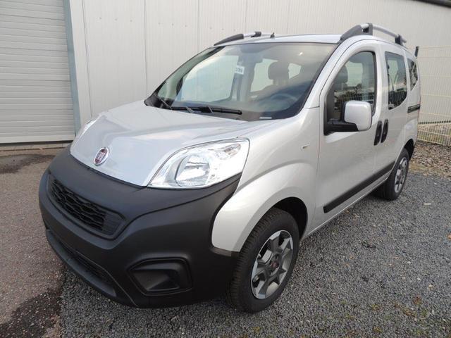 Fiat Qubo - Easy 1.4 8V Anhängerkupplung, Sitzheizung, Klimaanlage, 15'' Alu, ZV m. Fernbed.