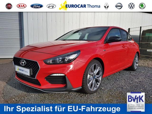 Hyundai i30 - Fastback N-Line 1.4 T-GDI DCT 29%* Navi, Rückfahrk., PDC h., DAB, Klimaautom., 18'' Alu