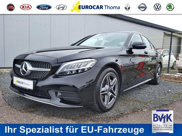Mercedes-Benz C-Klasse - C 220 d AMG-Line 2020 32%* 9G-Tronic Navi, Park Assist, Rückfahrk., Sitzheiz., 18'' Alu