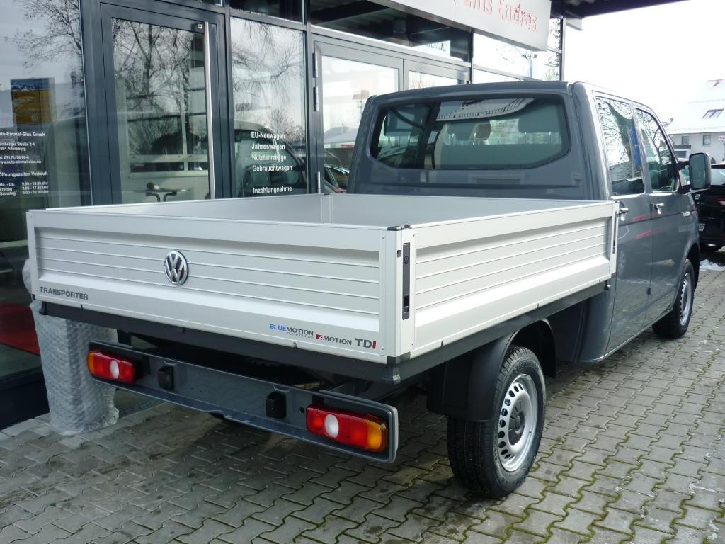 vw nutzfahrzeuge t6 fahrgestell pritsche doppelkabine lr 2 0 tdi scr 75kw eu. Black Bedroom Furniture Sets. Home Design Ideas