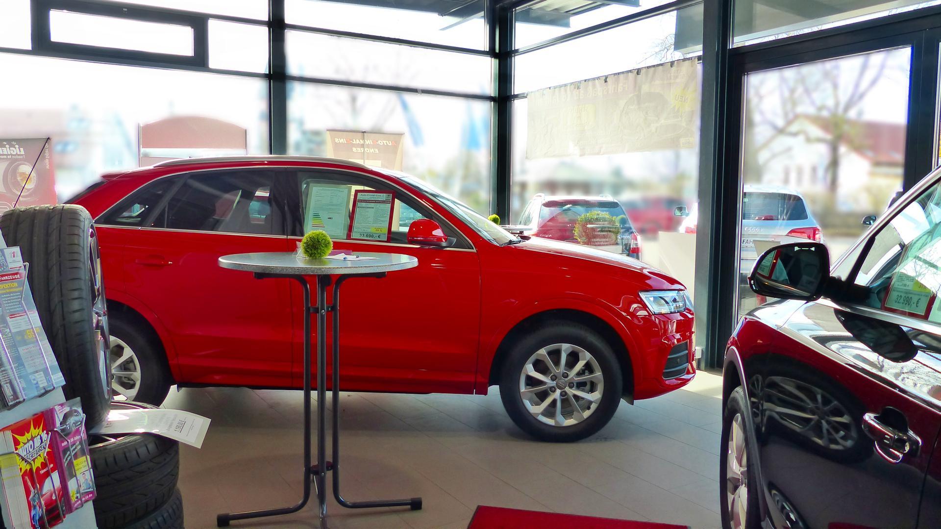 EU-Fahrzeuge Nürnberg Allersberg Auto-Einmal-Eins Audi Q3 rot