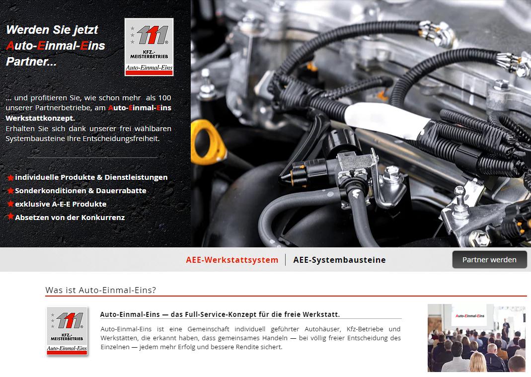 Auto-Einmal-Eins Werkstattsystem EU-Fahrzeuge Service Werkstatt