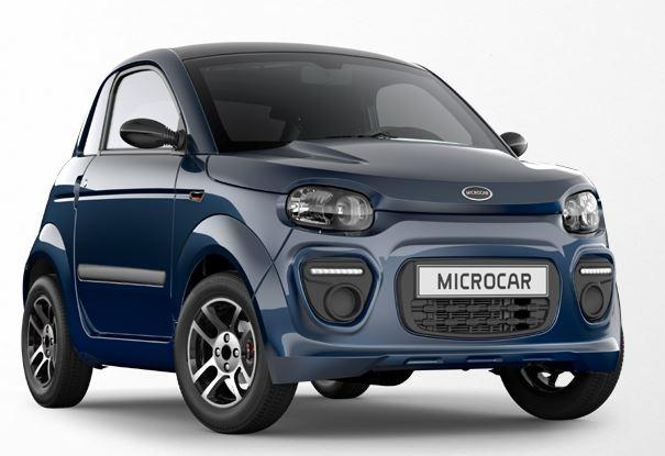 MICROCAR Leichtkraft-Fahrzeug DUÉ 6 PLUS