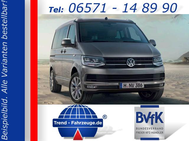 Volkswagen T6 California - Beach inkl. Climatronic, Tempomat, Standheizung