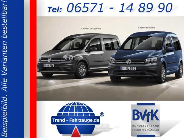 Volkswagen Caddy - Trendline inkl. Einparkhilfe, Radio Comp Colour, Climatic