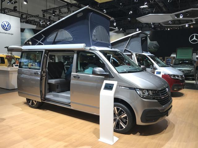 Volkswagen T6.1 California Beach Camper TZ - incl. Miniküche, Aufstelldach, Klimaanlage, Multifunktionsanzeige uwm.