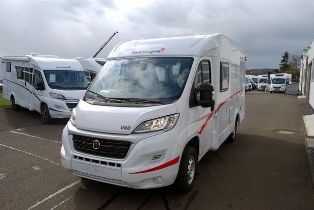 SUNLIGHT Reisemobile Van V 60 inkl. Basic/Chassis/ Vorb. Rückfahrkamera uvm.