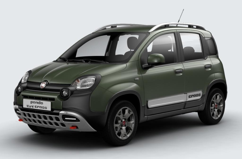 fiat panda 4x4 my18 cross fever auto gmbh. Black Bedroom Furniture Sets. Home Design Ideas