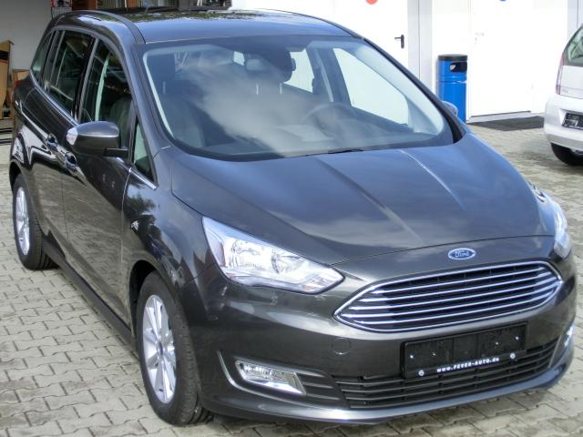 Ford Grand C-Max 2018 Titanium WLTP KeyFree NAVI Winter SOFORT