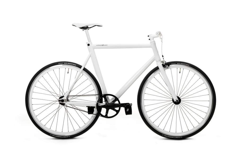 Bergamont singlespeed classic grey-white