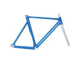Schindelhauer Hektor Frameset - electric blue, Beispielbilder, ggf. teilweise mit Sonderausstattung
