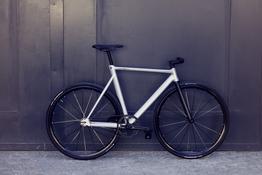 Schindelhauer Hektor - polarsilber - Singlespeed / Fixed Gear Bike, Beispielbilder, ggf. teilweise mit Sonderausstattung