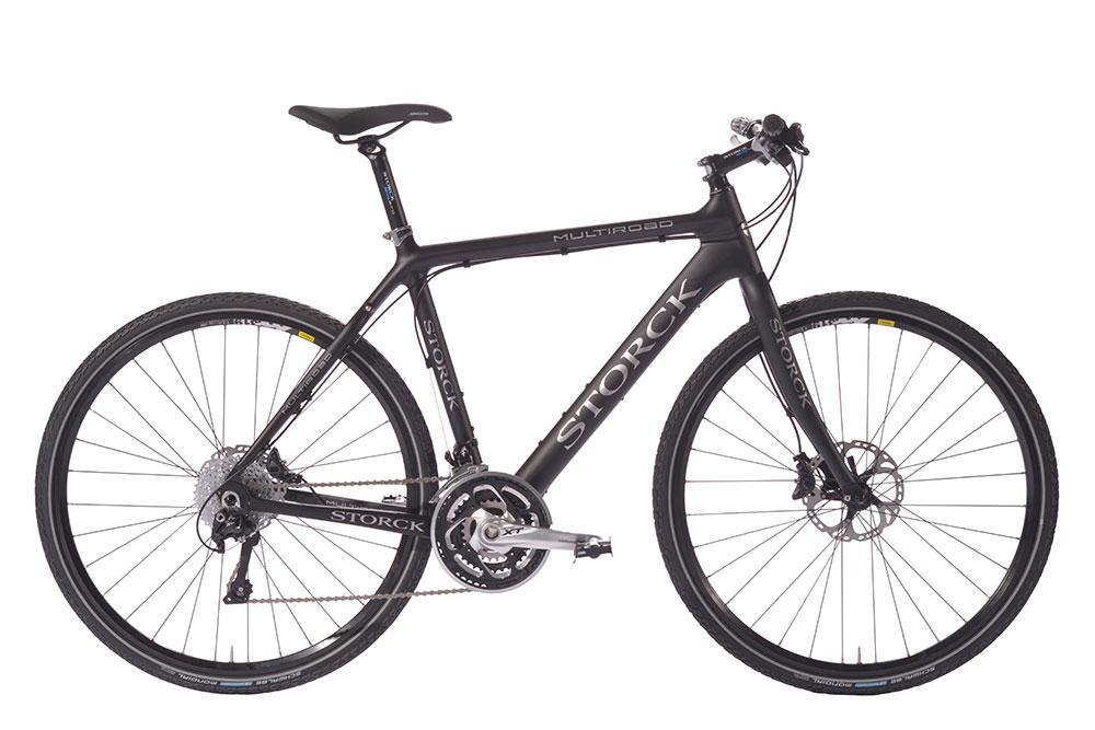 storck trekkingbike multiroad carbon mit shimano deore xt das perfekte trekking fahrrad bei. Black Bedroom Furniture Sets. Home Design Ideas