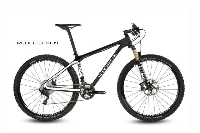 Storck Mountainbike - Rebel Seven - Frameset in der 20th-Anni-Special-Edition