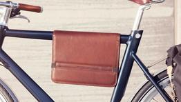 Schindelhauer Fahrrad-Oberrohrtasche LARGE, Beispielbilder, ggf. teilweise mit Sonderausstattung