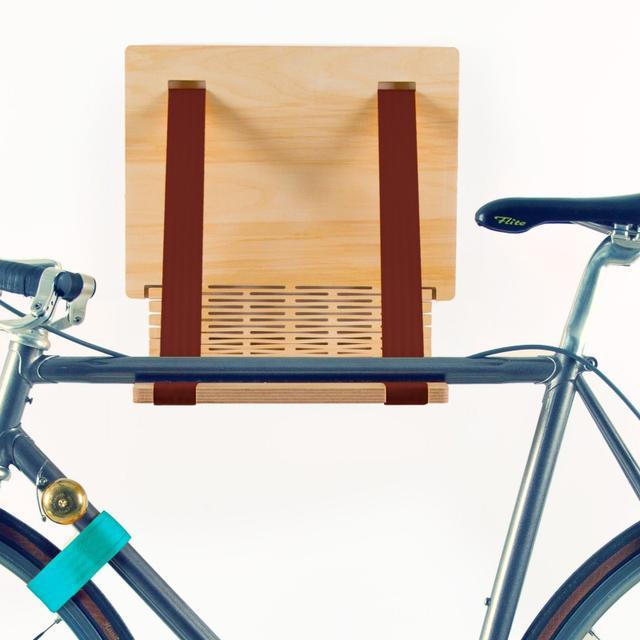 flxble Fahrrad-Wandhalter - Bike Dock - die Fahrradwandhalterung aus Holz