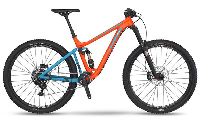 BMC Mountainbike AM Trailfox 03 - mit SRAM X1 (2016 / 2017)