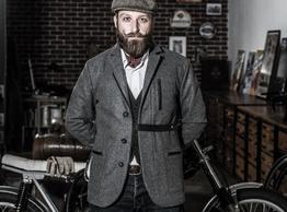 Mehr als nur eine Fahrradjacke - Sendling Fahrradsakko - Loden mit Teflonbeschichtung Funktionskleidung mal schick!., Beispielbilder, ggf. teilweise mit Sonderausstattung