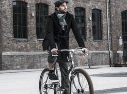 Elegante Fahrradjacke aus Loden für Herbst, Winter und Frühjahr. , Beispielbilder, ggf. teilweise mit Sonderausstattung